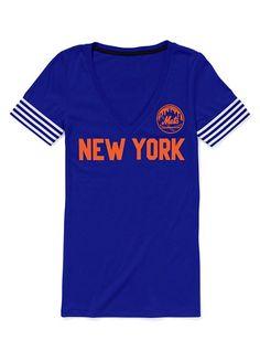 Victoria's Secret PINK New York Mets V-neck Tee #VictoriasSecret http://www.victoriassecret.com/clearance/pink-loves-major-league-baseball/new-york-mets-v-neck-tee-victorias-secret-pink?ProductID=43284=CLR?cm_mmc=pinterest-_-product-_-x-_-x