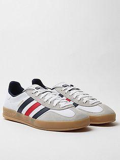 buy popular 28400 11bec Adidas Originals Gazelle Indoor Sneaker in white (50-100) - Svpply Adidas  Originals