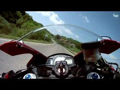 Sweet Honda CBR 600 onboard ride