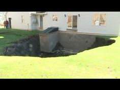 Family Fears Backyard Hole Could Swallow Home