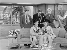 Lucy, Ricky, Fred, Ethel, and Harpo. I Love Lucy Show, Do Love, Love Is All, Lucille Ball, Movies Showing, Movies And Tv Shows, William Frawley, Vivian Vance, Desi Arnaz