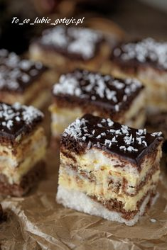 Tiramisu, Cheesecake, Food Porn, Dessert Recipes, Food And Drink, Cooking Recipes, Sweets, Cookies, Baking