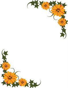 Clipart Of Garden With Flowers