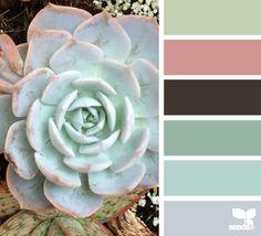 succulent hues #Color Palettes #Colors #Palette