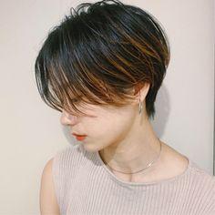 Tomboy Hairstyles, Hair Arrange, Very Short Hair, New Haircuts, Love Hair, Hair Goals, Dyed Hair, Short Hair Styles, Hair Cuts
