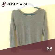 Hollister 3/4 sleeve top Preloved, but great condition! Hollister Tops