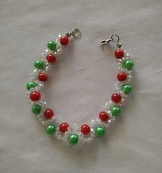 Christmas Bracelet  ~ Seed Bead Tutorials