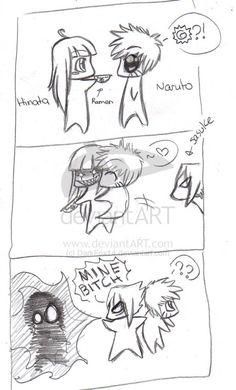 sasunaru funny   SasuNaru comic by DarkFox14