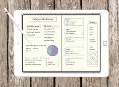 Digital Bullet Journal Planner For GoodNotes - Bujo