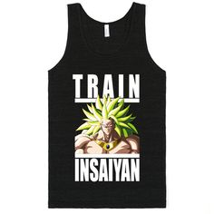 193c6985 Train Insaiyan - Broly Workout Shirts, Dbz, Dragon Ball Z, Fitness Apparel,