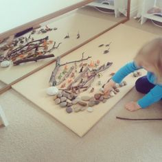 """Gorgeous invitation to play with dinosaurs from Two of Everything ("""",)"""