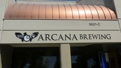 Arcana Brewing, Carlsbad California