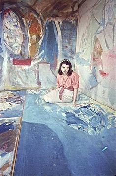 Helen Frankenthaler, NY 1956