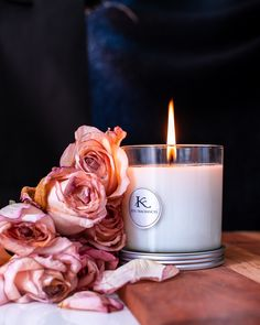 KITA Fragrances luxury perfumed candle.