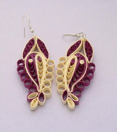 Filigree earrings ♥ by lacartaincantata on Etsy, $15.00