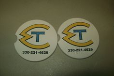 custom car coasters starting at $7 with free shipping at www.personalizeyouritems.com