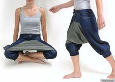 """Have you always wanted to use your groin as a plate, but just found the whole thing way too difficult? Logistically?  Fret no more, lap-foodies! Your daydreaming days are over."" Introducing: Picnic Pants!   ROTFLOL!"