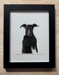 Black Dog by ellaquaint Illustrations, Dogs, Inspiration, Black, Biblical Inspiration, Black People, Illustration, Pet Dogs, Doggies