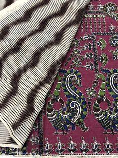 Printed Kalamkari cotton saree with printed blouse PC with rich pallu Kalamkari Saree, Trendy Sarees, Cotton Saree, Printed Blouse, Alexander Mcqueen Scarf, Boutique, Prints, Photography, Collection