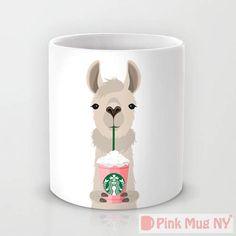 Personalized mug cup designed PinkMugNY I love Starbucks