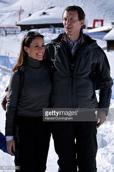News Photo : Princess Marie of Denmark and Prince Joachim of...