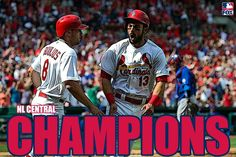 NL Central Champions!!!!