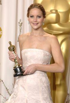 Jennifer Lawrence Photos: Press Room at the Oscars