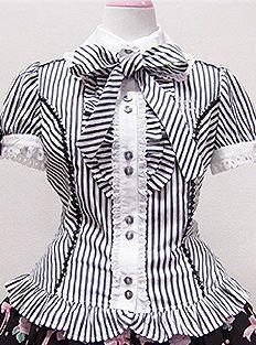 Angelic Pretty / Blouse / Annie Striped Blouse