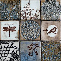 Dotti Potts Pottery-Pottery, fashion jewellery, earrings and rings | WALL ART