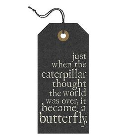 Another great find on #zulily! 'Became a Butterfly' Tag Wall Sign by Danielson Designs #zulilyfinds
