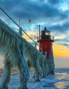 Ice Beast of Lake Michigan