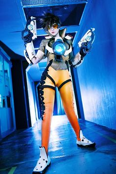 Tracer Cosplay costume Overwatch (3) – Cosplays