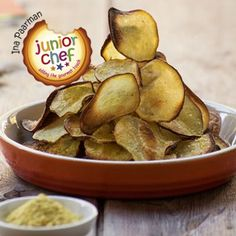 Make your own healthy crisps. Not only is it a big saving, but sweet potato is good for you as well. The secret is to slice the vegetables very thinly, almost 'see through'.