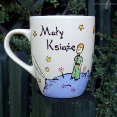 Mały Książę - kubek , Le Petit Prince , The Little Prince  - cup