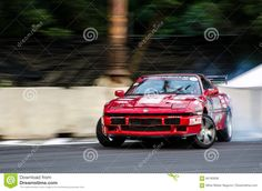 Photo about Drifting car with some smoke and noise Photo taken: June Image of noise, tire, city - 84165836 Car Editorial, Drifting Cars, Vectors, Sign, Stock Photos, Free, Image, Signs
