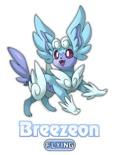 Introducing the Sharp Scale Pokemon - Wyveon! Eevee evolves into Wyveon once it levels up with high friendship while holding a Dragon Scale! Solgaleo Pokemon, Pokemon Eevee Evolutions, Pokemon Breeds, Pokemon Fusion Art, Pokemon Funny, Pokemon Fan Art, Flying Type Pokemon, Pokemon Painting, Cool Pokemon Cards