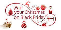 Win your Christmas on Black Friday - Take a short video on your phone describing your favourite Christmas childhood memory ....Upload this to Facebook, Twitter or Instagram including the #intuChristmas to enter ...... Upload your video to Facebook, Twitter, YouTube or Instagram including #intuChristmas to enter Prepare a short video that describes your favourite.....  Win over £1,800 worth of Christmas prizes on Black Friday 27th November!
