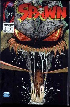 Violator takes the cover of Spawn by Todd McFarlane