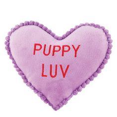 Luv-A-Pet™  Purple Plush Heart - PetSmart $2.99 #pet #vday