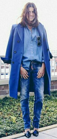 Leandra a vision in blue!