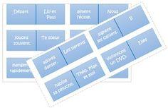 Dominos pour réviser le présent des verbes en ER | Delfynus - Une maitresse qui vous veut du bien | Bloglovin'