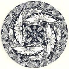 Enthusiastic Artist: 3 zendala dares