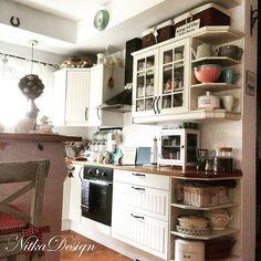 NitkaDesign: Moja biała kuchnia