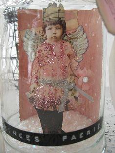 Think Pink fairy bottle
