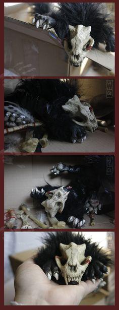 Fantasy | Whimsical | Strange | Mythical | Creative | Creatures | Dolls | Sculptures | Morse -soul-keeper- plush by hikigane on DeviantArt