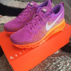 Nike Air Max 1 Premium Purple Pink Size UK 10 Depop