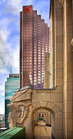Scotia Bank Towe,r Toronto, from the CIBC Building Scotia Bank, Toronto Photography, Toronto Ontario Canada, Canada Holiday, Toronto Skyline, Canada Eh, Toronto Life, Largest Countries, Quebec City