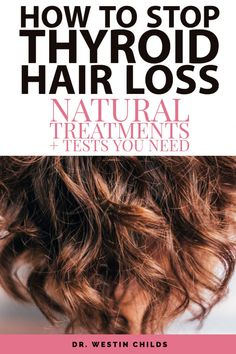 How to Reverse Thyroid Hair Loss and regrow your hair