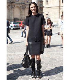 #Celine dress, #LaurenceDecade shoes