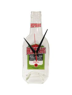 Desperados Beer Real Bottle Wall Clock by InteriorPlace on Etsy, $34.99